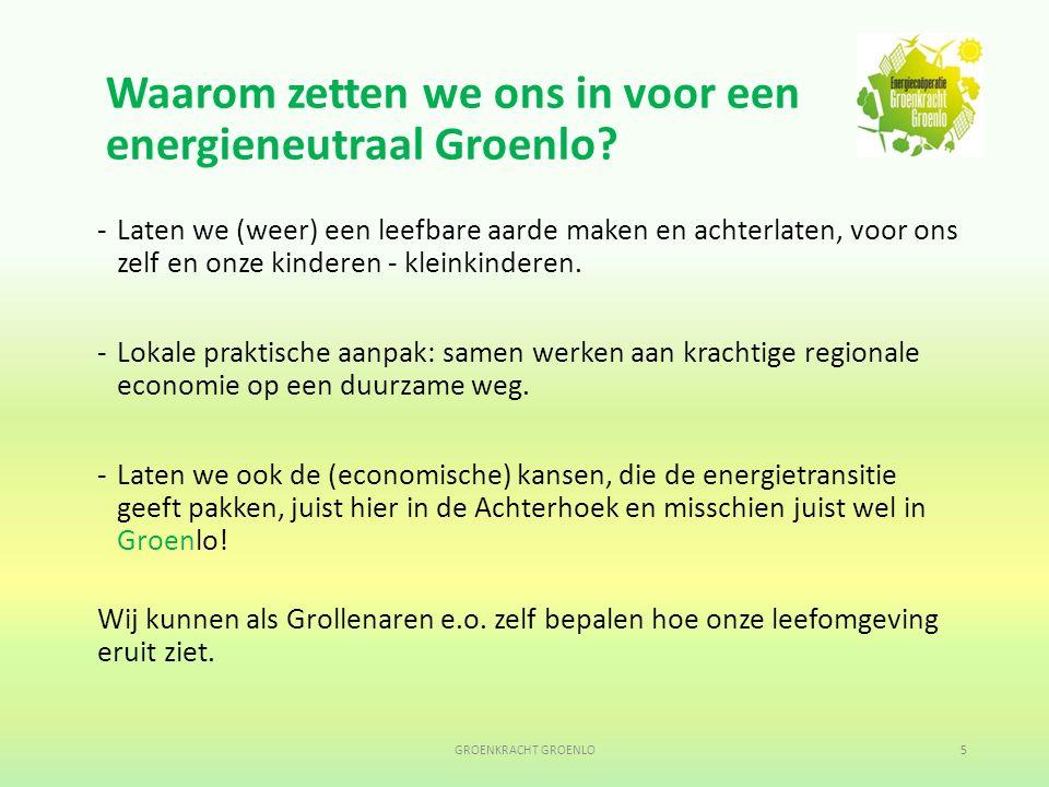 Hierna nadere uitleg door AGEM; GROENKRACHT GROENLO16