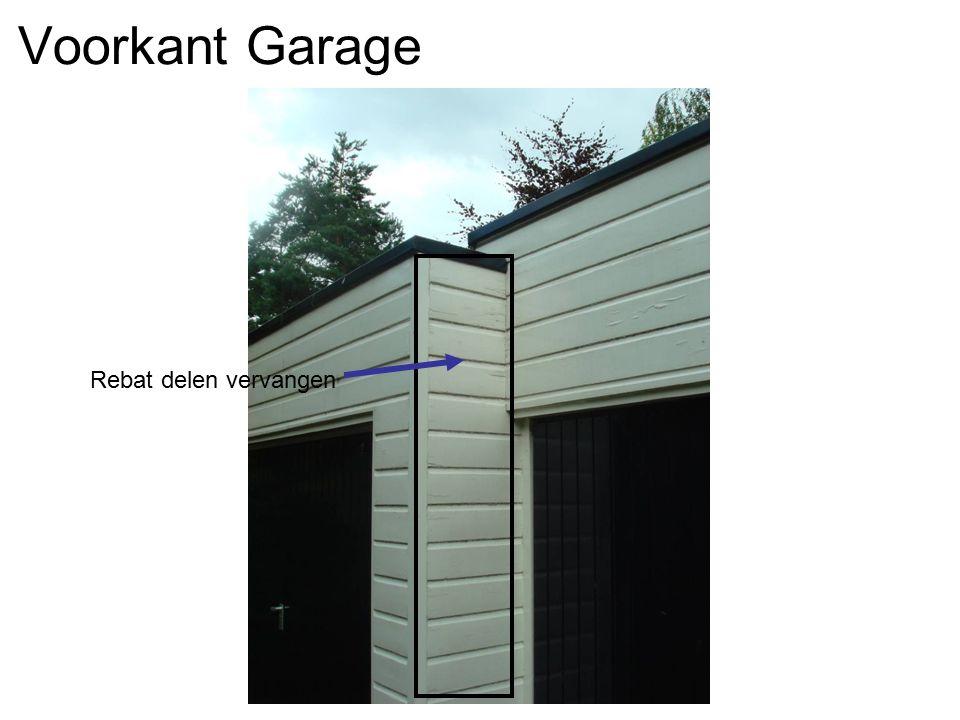 Voorkant Garage Rebat delen vervangen
