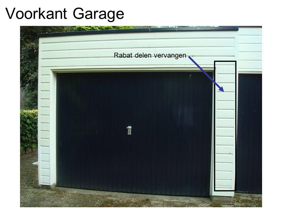 Voorkant Garage Rabat delen vervangen
