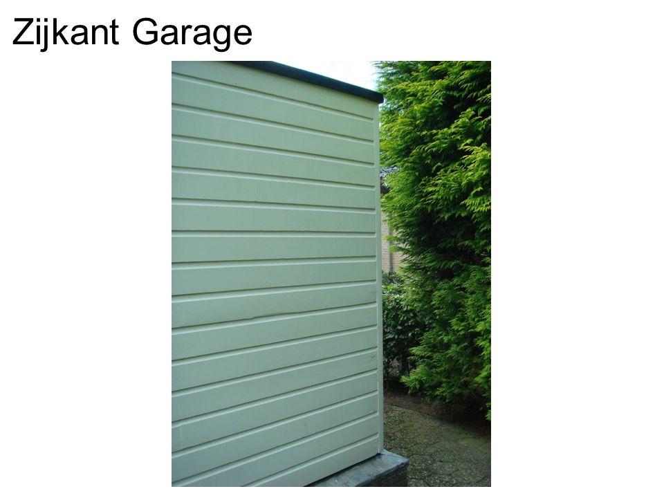 Zijkant Garage