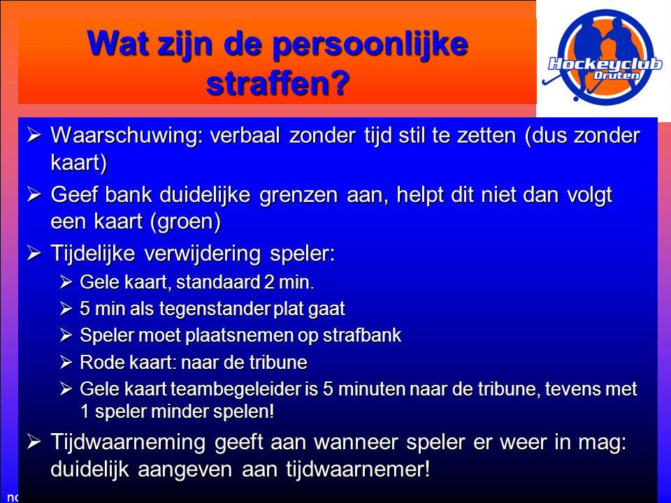 november 2014Informatiebijeenkomst Zaalhockey Spelsituaties  Strafcorner.