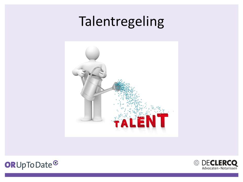 Talentregeling