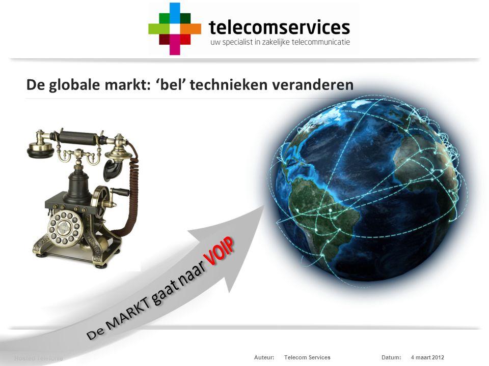 Telecom Services Hosted Telefonie Datum:4 maart 2012Auteur: HIP integratie met Microsoft Lync en HIP hosted Centrale Release Q4 - 2012 Release Q4 - 2012