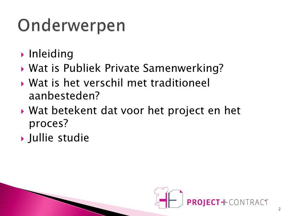 Introductie Bouwtechnische Bedrijfskunde Hogeschool van Amsterdam www.projectencontract.nl 08/10/2010 mr. C.A.G. Canoy rm, projectmanager/ juridisch a