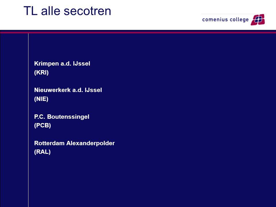 TL alle secotren Krimpen a.d. IJssel (KRI) Nieuwerkerk a.d.
