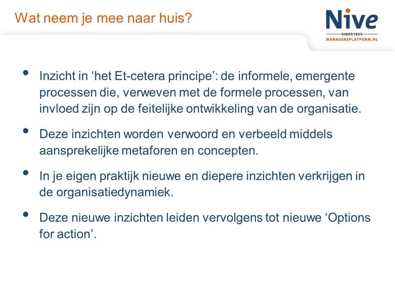 Workshop Het 5-D model Jan-Roelof Abbring over intercultureel management volgens het '5-Dimensie model' van Prof.