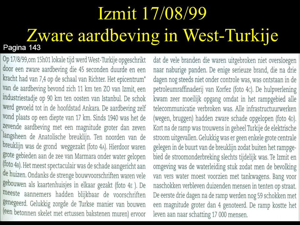 Izmit 17/08/99 Zware aardbeving in West-Turkije Pagina 143