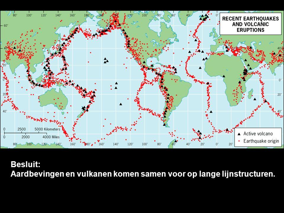 Gebergten Gebergten in de oceaan Diepzeetroggen