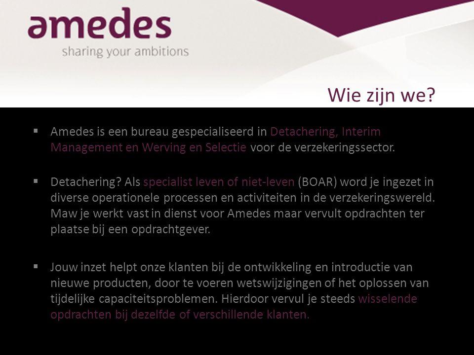 De waarden van Amedes  Kracht De basisfilosofie van Amedes wordt het best omschreven als handelen uit eigen kracht.
