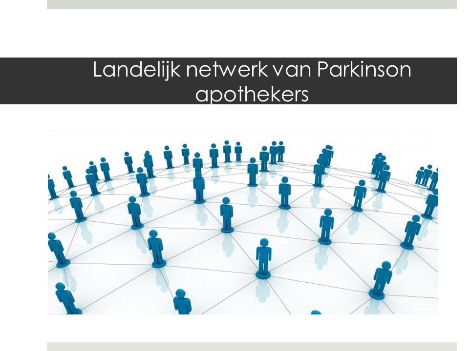 Landelijk netwerk van Parkinson apothekers