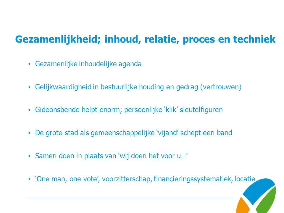 Samen Sterker vanuit 'gezamenlijkheid' Meer informatie over deze presentatie of onze dienstverlening: SeinstravandeLaar B.V.