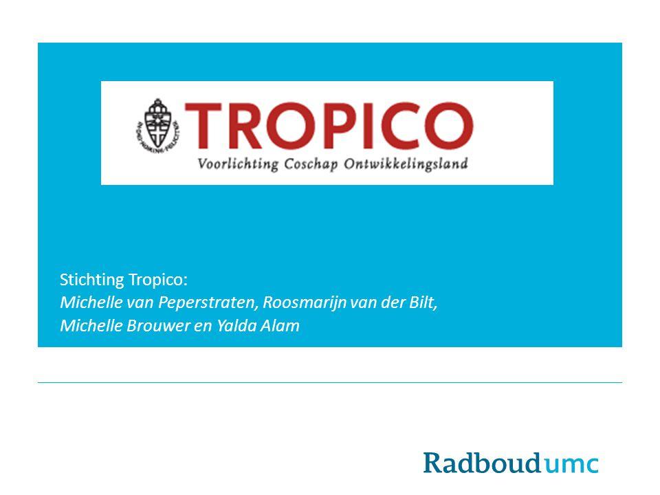 Stichting Tropico: Michelle van Peperstraten, Roosmarijn van der Bilt, Michelle Brouwer en Yalda Alam