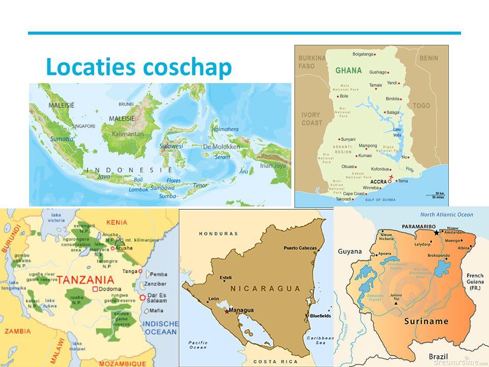 Locaties coschap