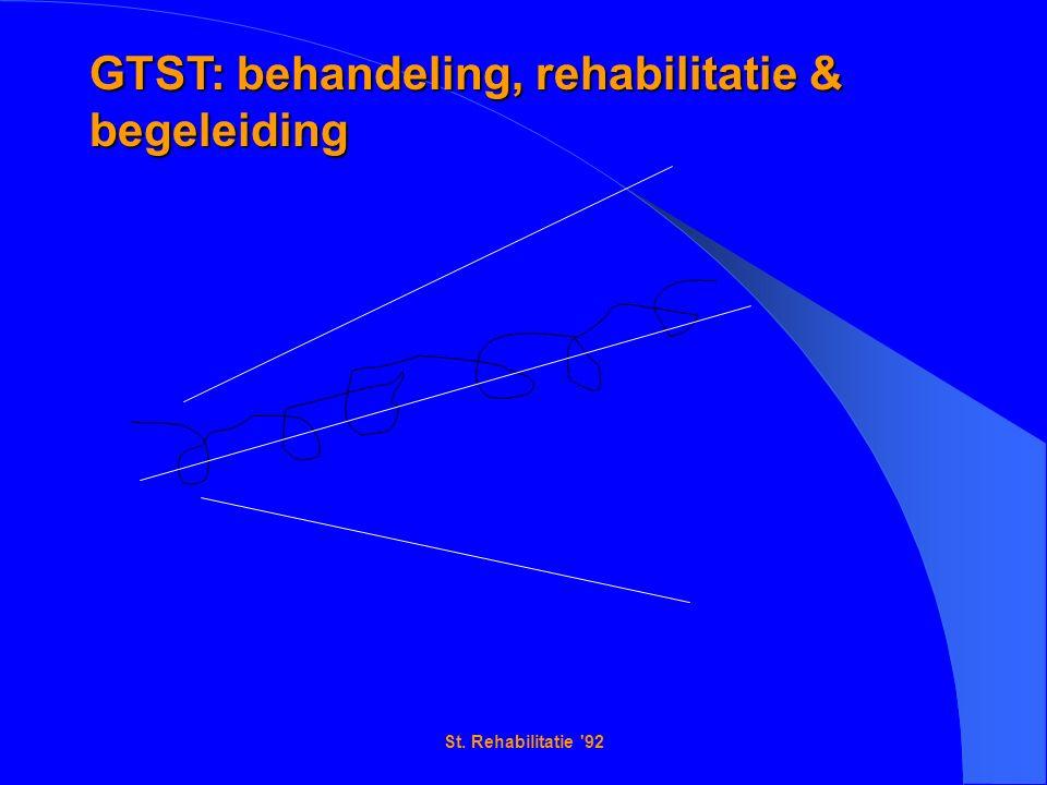 St. Rehabilitatie 92 GTST: behandeling, rehabilitatie & begeleiding