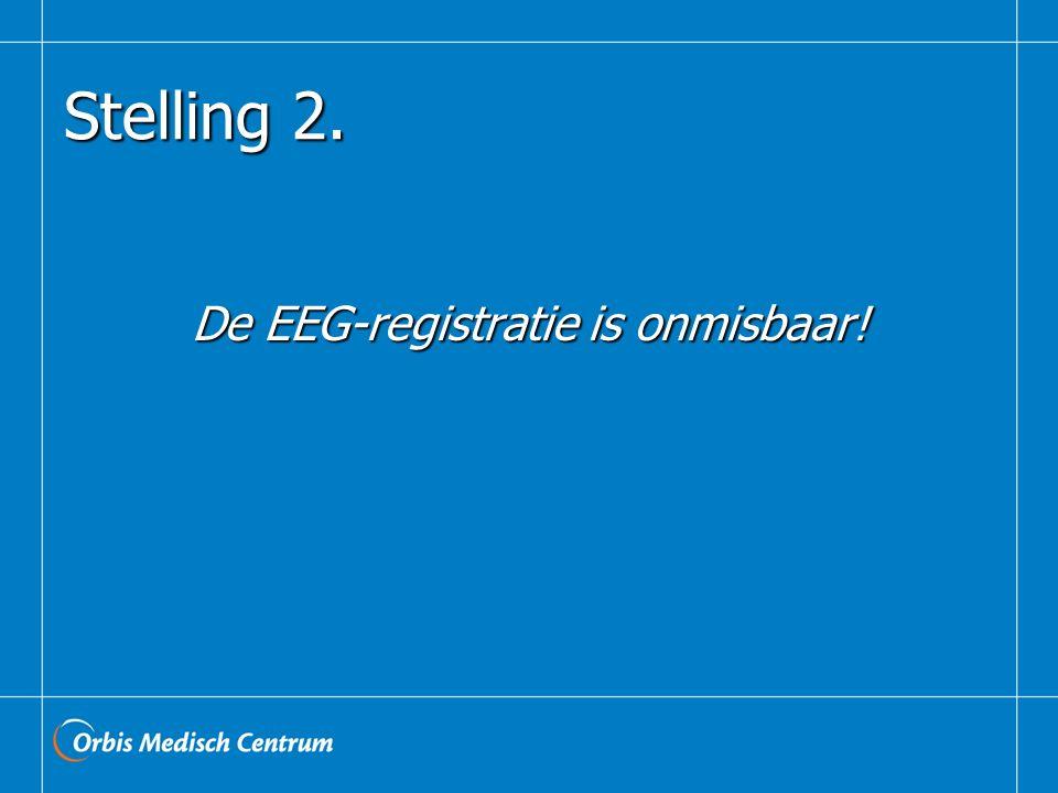 Stelling 2. De EEG-registratie is onmisbaar!