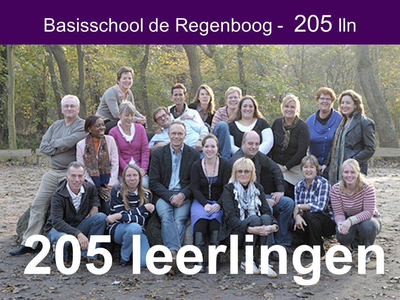Basisschool de Regenboog - 205 lln 205 leerlingen