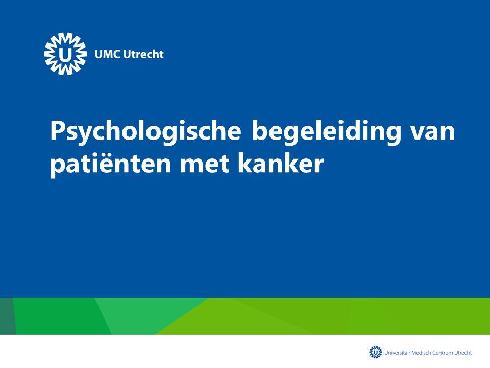 Psychologische begeleiding van patiënten met kanker