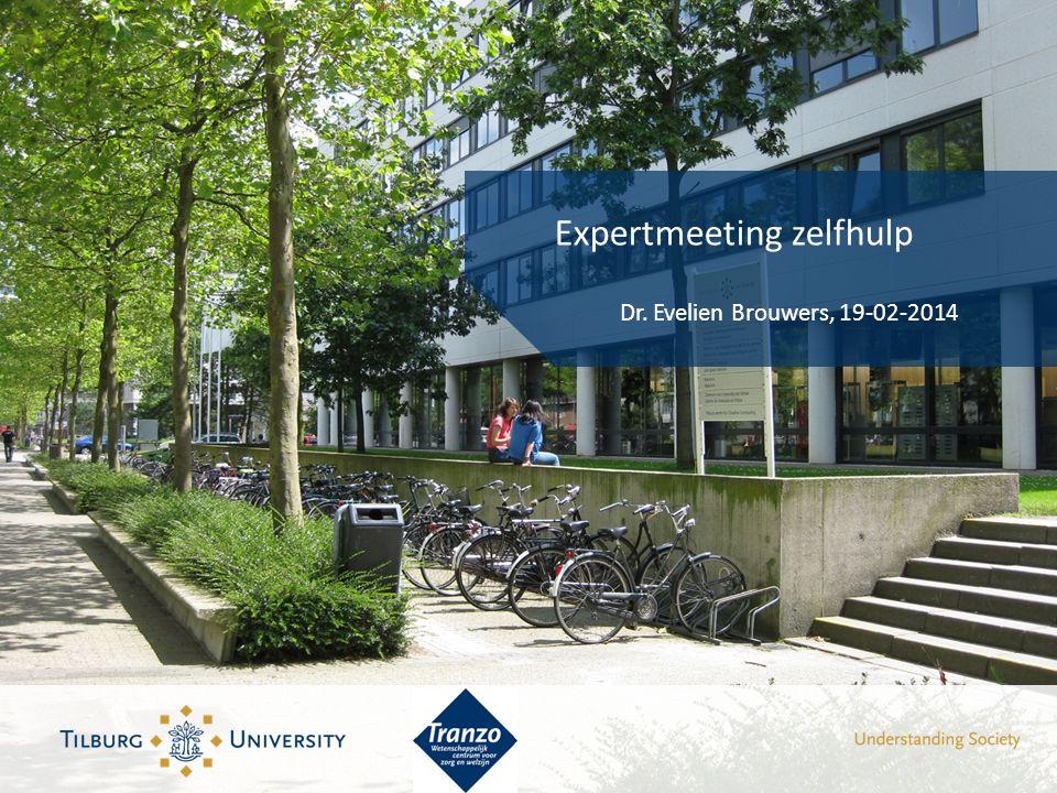 Expertmeeting zelfhulp Dr. Evelien Brouwers, 19-02-2014