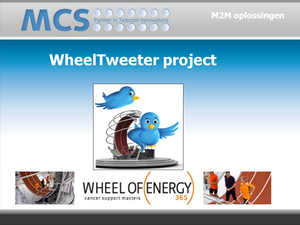 WheelTweeter project M2M oplossingen