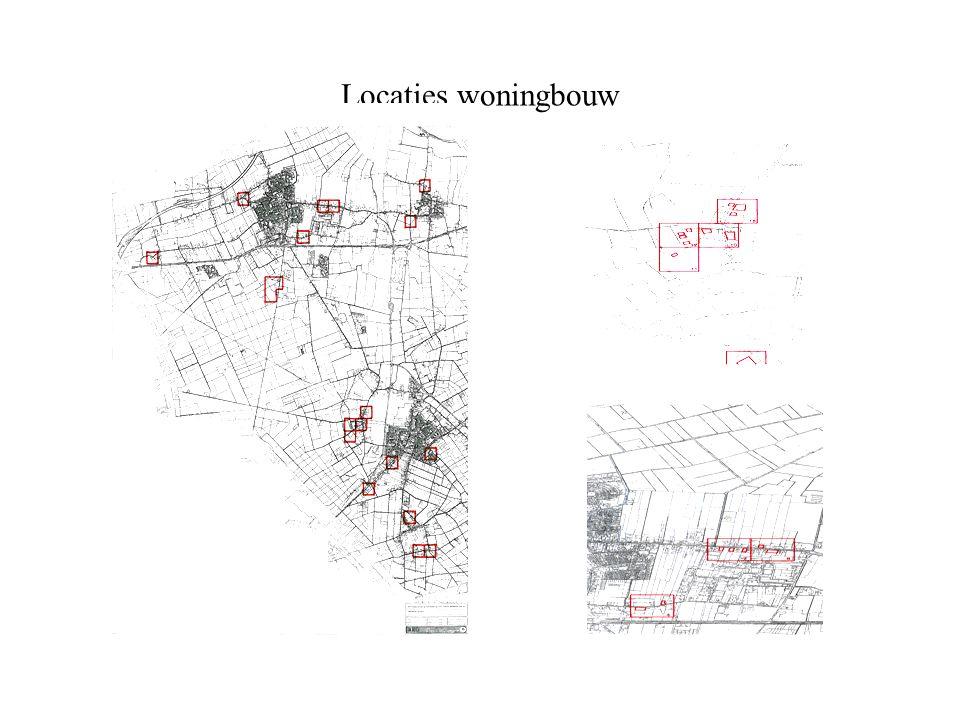 Locaties woningbouw