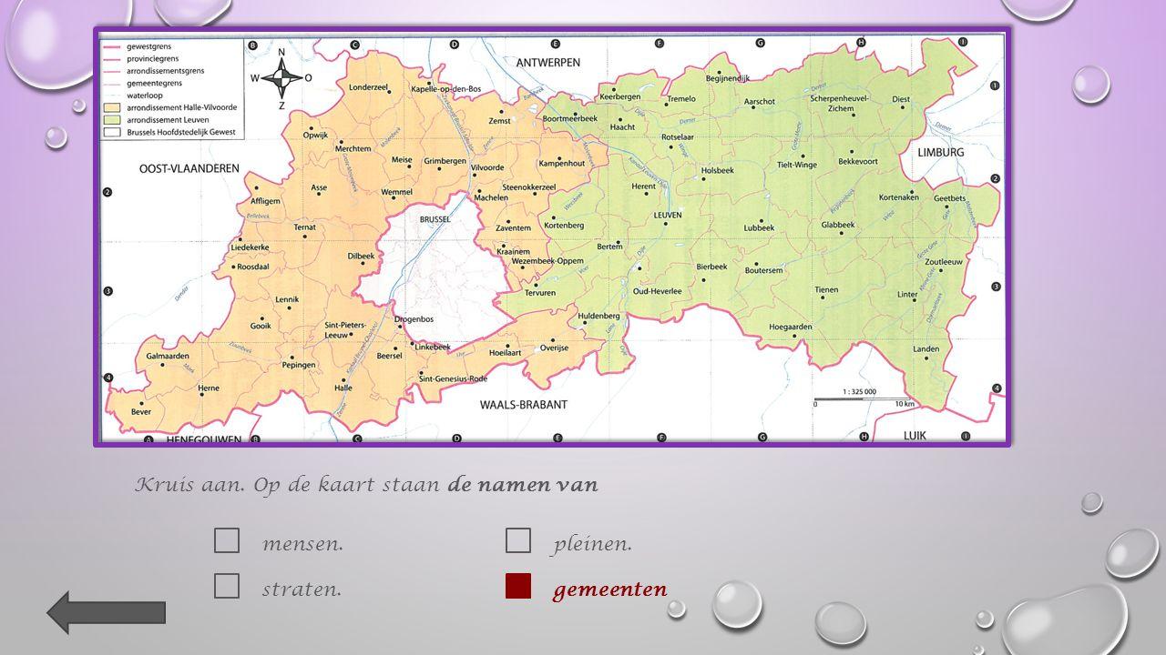1. Welke provincie wordt op die kaart afgebeeld .