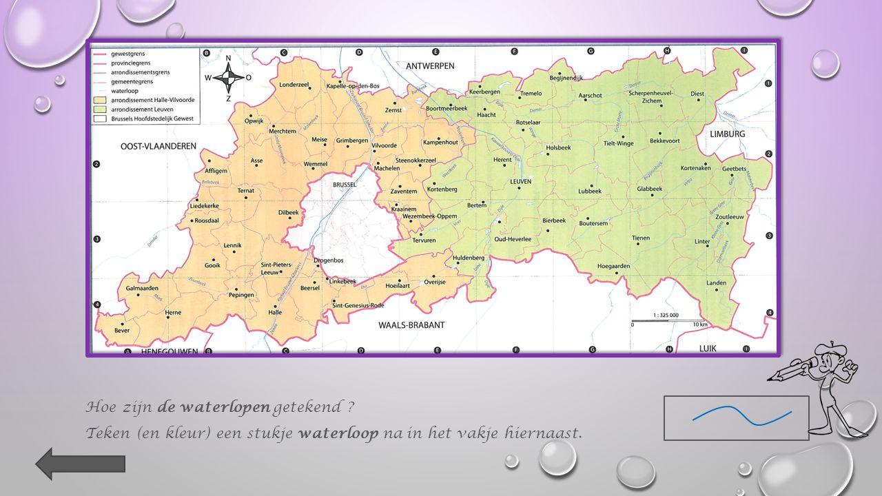 3. Op de kaart zie je bij elke gemeentenaam een Wat wordt daarmee aangeduid .