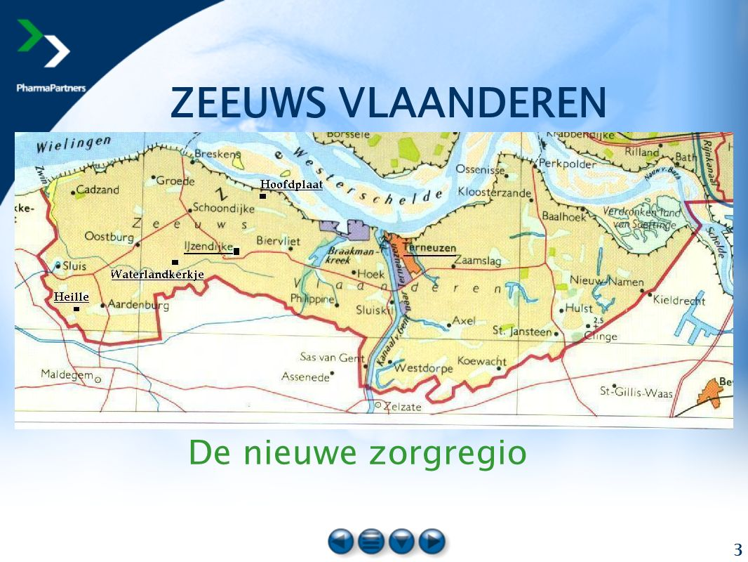 3 De nieuwe zorgregio ZEEUWS VLAANDEREN