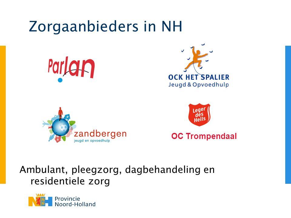 Specialistische zorg Landelijk werkende instellingen (LWI's) Therapeutische pleegzorg Nieuwe zorgaanbieder per 2012