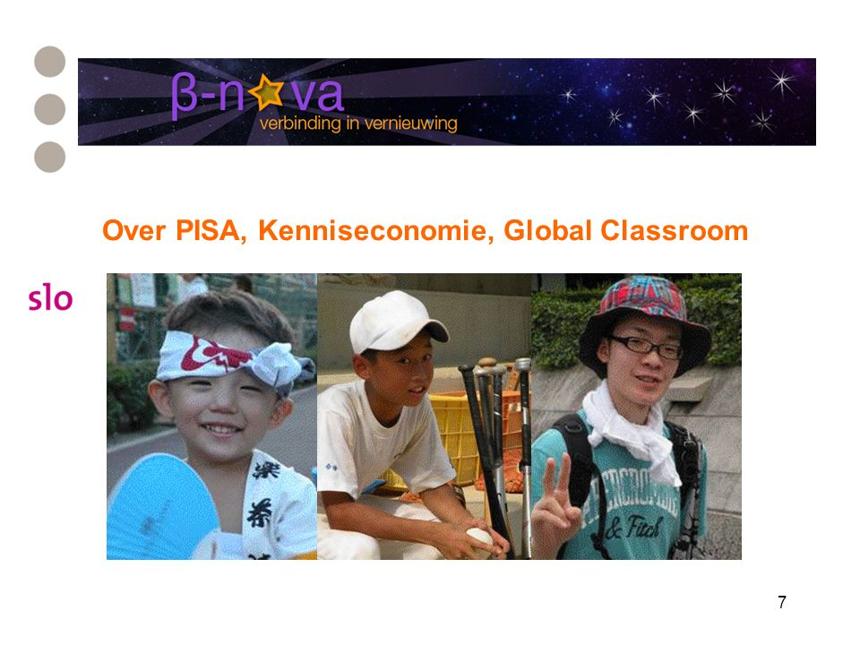 7 Over PISA, Kenniseconomie, Global Classroom