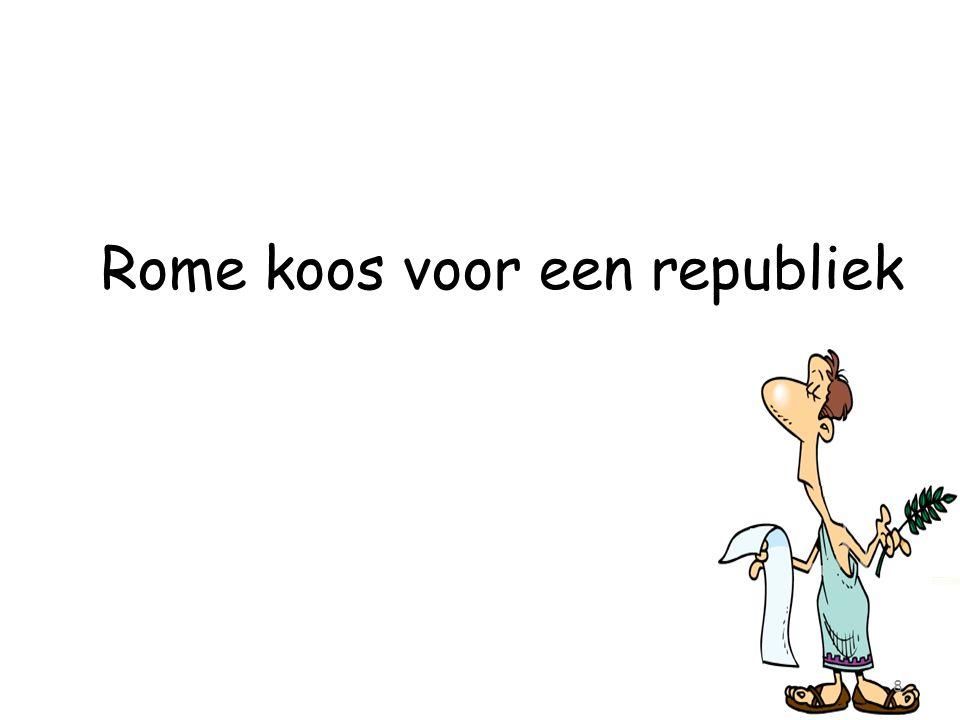 Rome koos voor een republiek 8