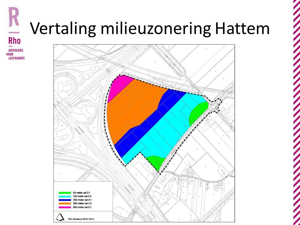 Vertaling milieuzonering Hattem