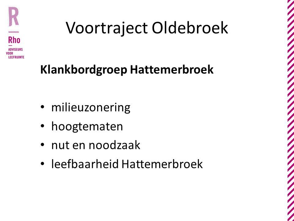 Voortraject Oldebroek Klankbordgroep Hattemerbroek milieuzonering hoogtematen nut en noodzaak leefbaarheid Hattemerbroek