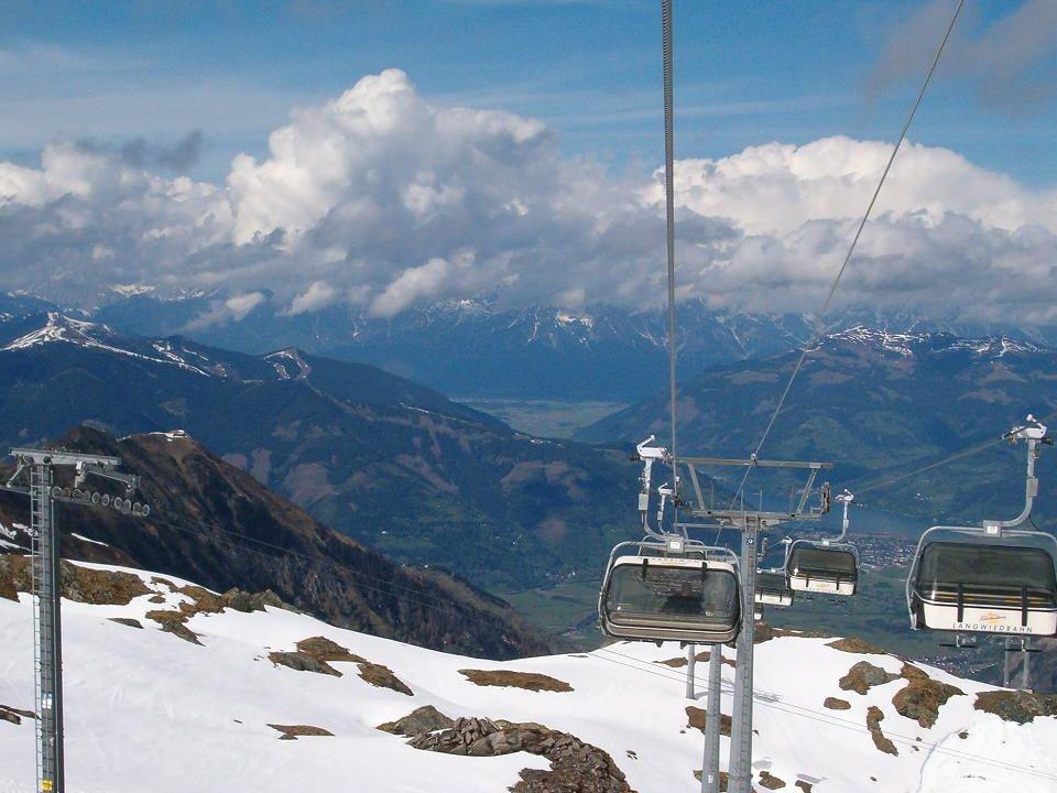 Lol in de Sneeuw Ruim 3000 meter hoog op de gletsjer !!!