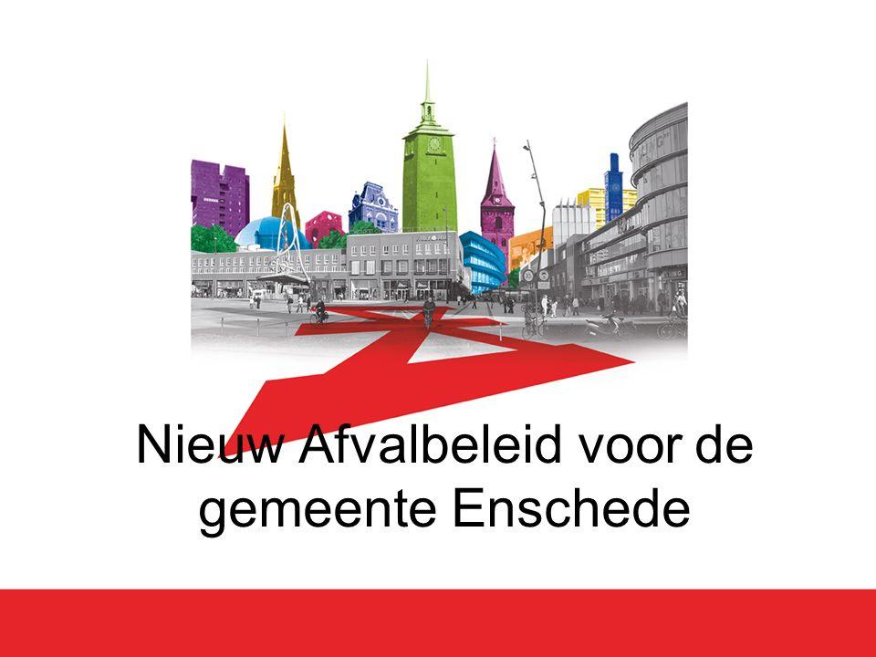 Nieuw Afvalbeleid voor de gemeente Enschede