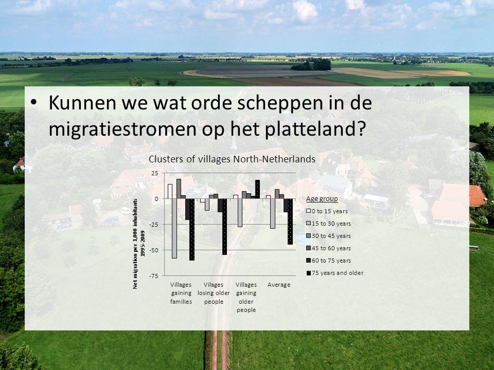 Kunnen we wat orde scheppen in de migratiestromen op het platteland?