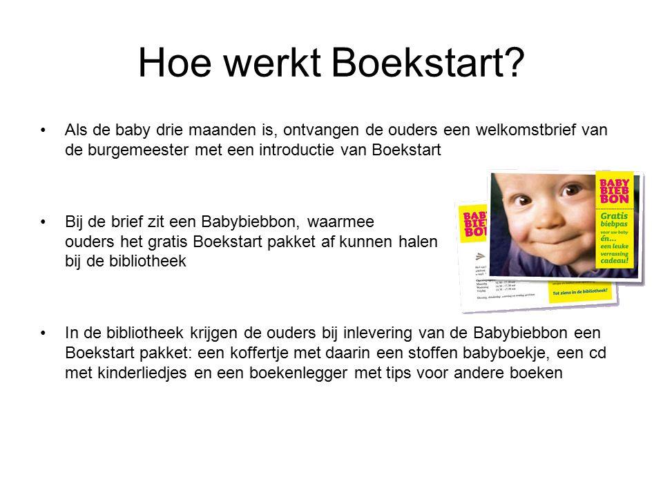 Hoe werkt Boekstart.