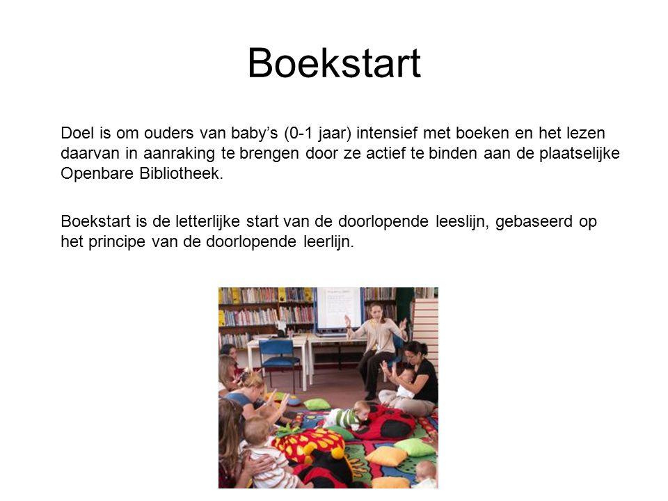 Bookstart is in 1992 in Engeland ontwikkeld.