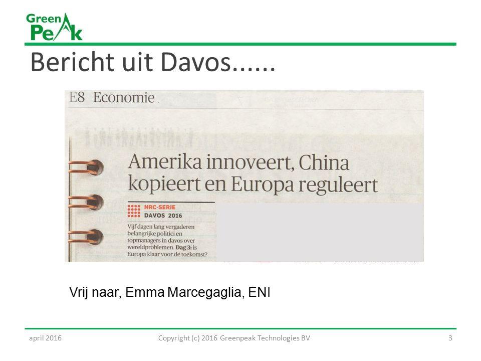 Bericht uit Davos......