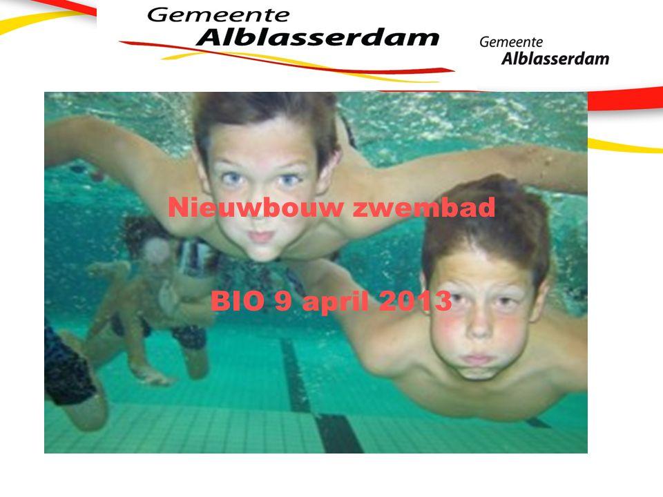 Nieuwbouw zwembad BIO 9 april 2013