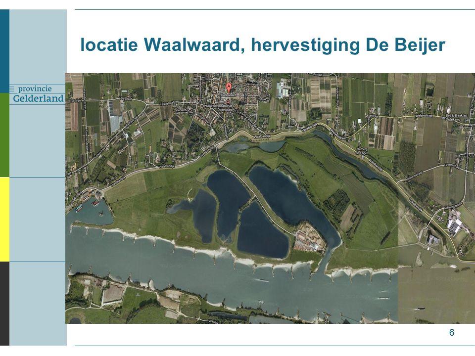 locatie Waalwaard, hervestiging De Beijer 6