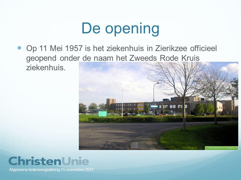 De zorg veranderde: In 1974 maakten de besturen van de ziekenhuizen in Goes en Zierikzee bekend dat er nauw zal worden samengewerkt.