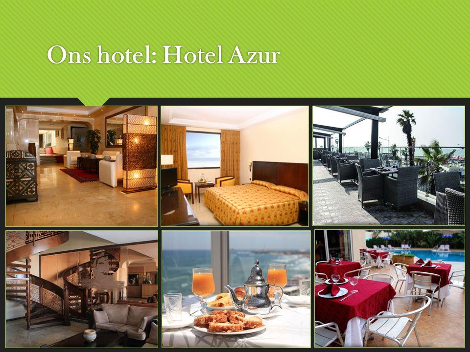 Ons hotel: Hotel Azur