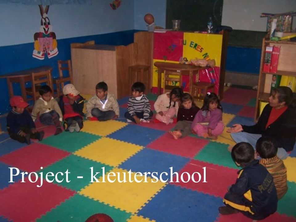 Project - kleuterschool