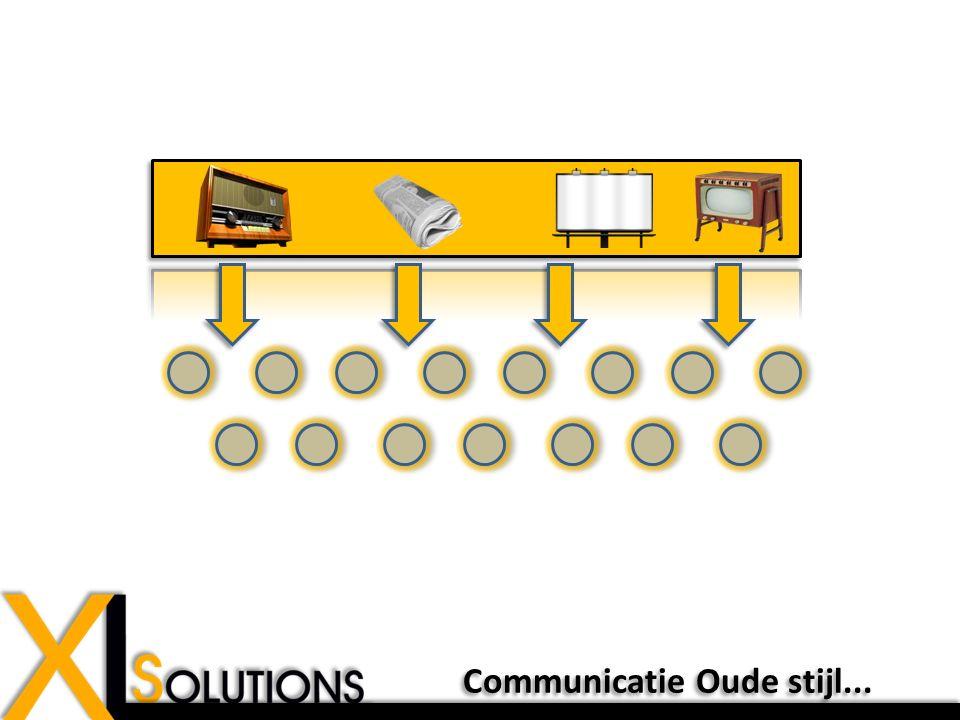 Communicatie Oude stijl...
