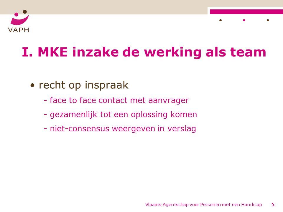 Vlaams Agentschap voor Personen met een Handicap5 I.