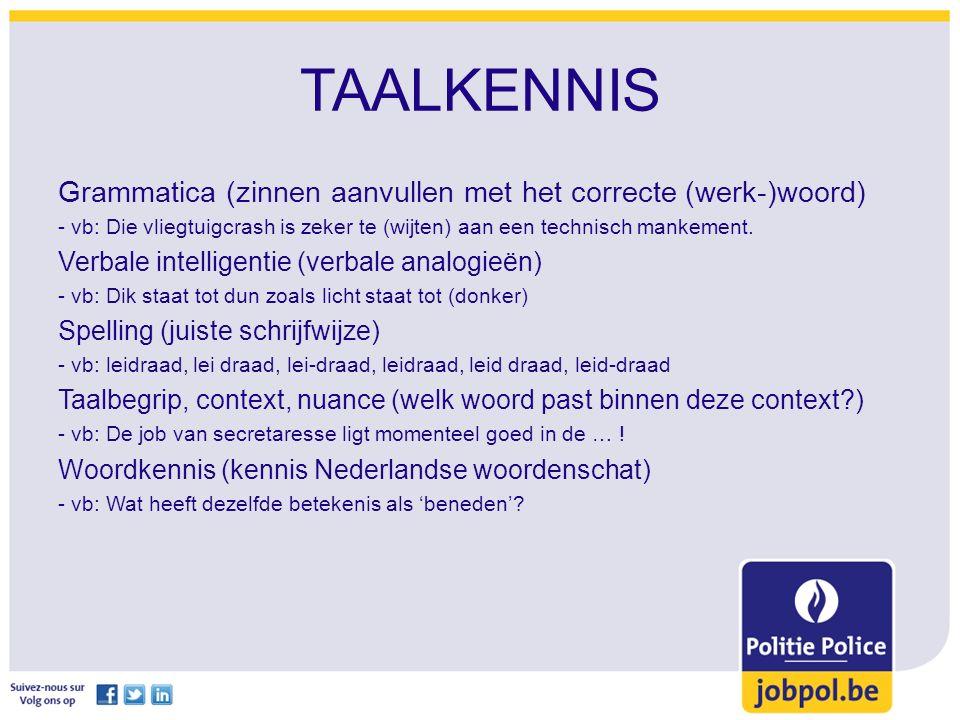 TAALKENNIS Grammatica (zinnen aanvullen met het correcte (werk-)woord) - vb: Die vliegtuigcrash is zeker te (wijten) aan een technisch mankement.