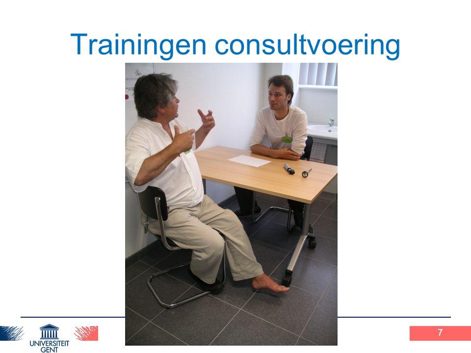 Praxisopdracht 1 12-2-2010 Trainingen consultvoering 7