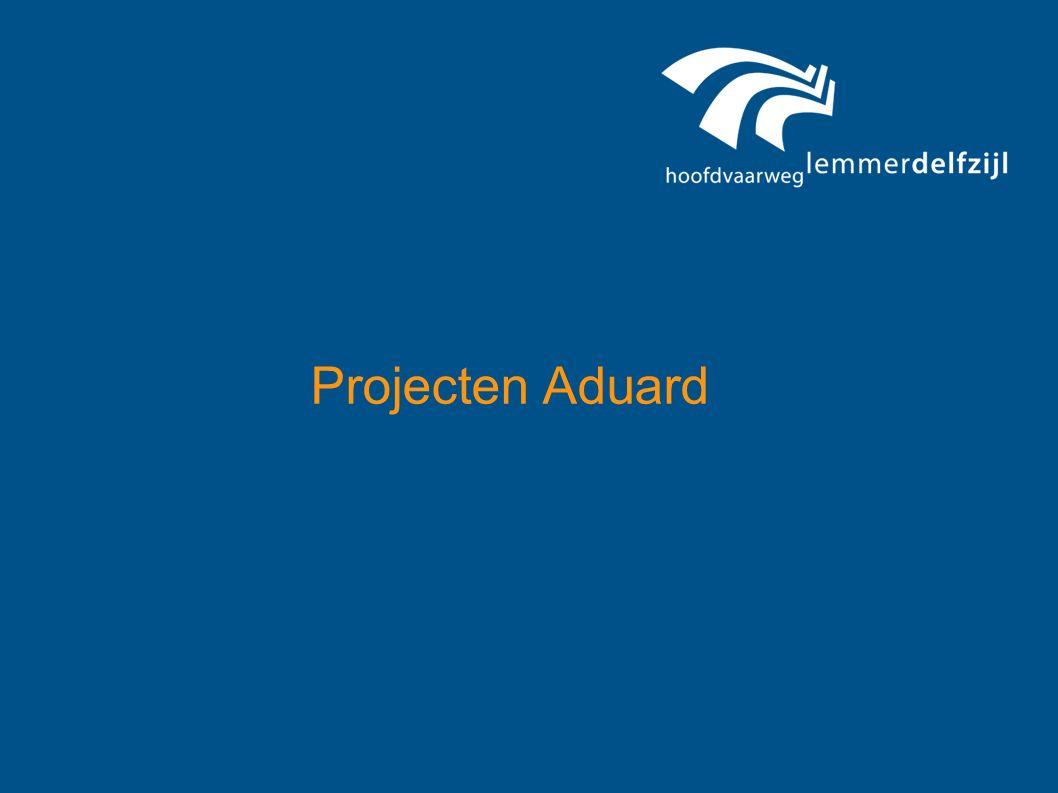 PROJECTEN ADUARD project 1 knooppunt Nieuwklap project 2 rondweg Aduard- Nieuwklap project 3 brug Aduard project 4 onderhoud N983 1 2 3 4