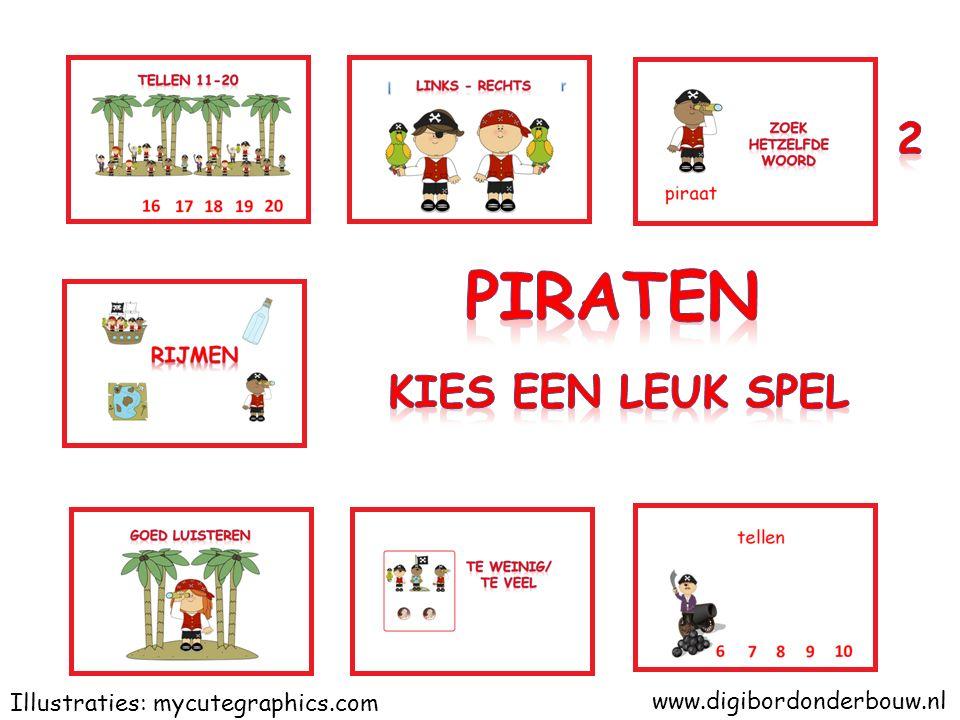 www.digibordonderbouw.nl Illustraties: mycutegraphics.com