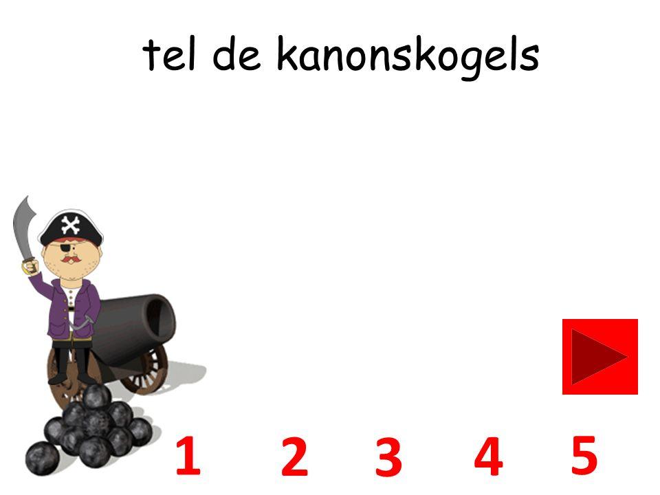 5 1 3 4 2 tel de kanonskogels